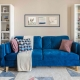 Blue Couch Photoshoot